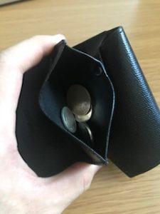 小さい財布 コイン入れ
